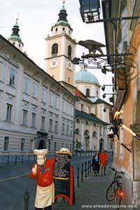 Restaurante Sokol, instituição gastronómica de Liubliana
