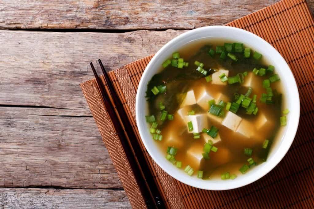Miso súpa, japönsk mat