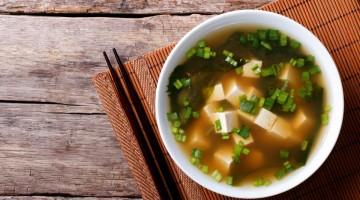 Miso suppe, japansk mat