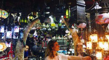 Muskat'ta Çarşı