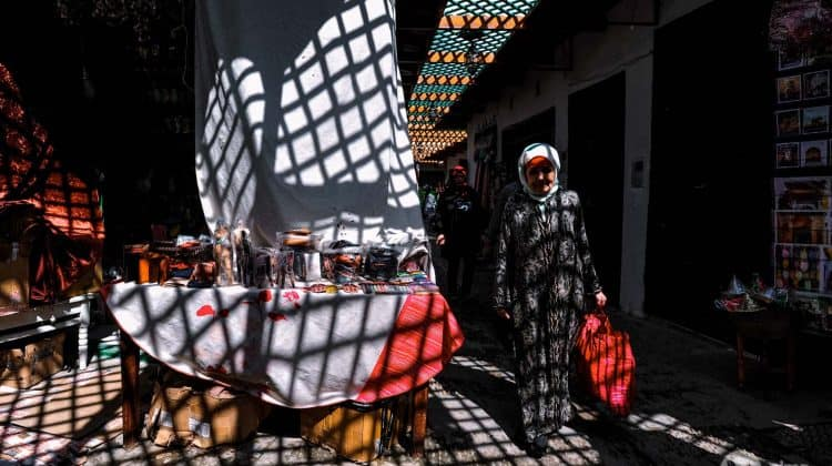 What to see in Tétouan: souk