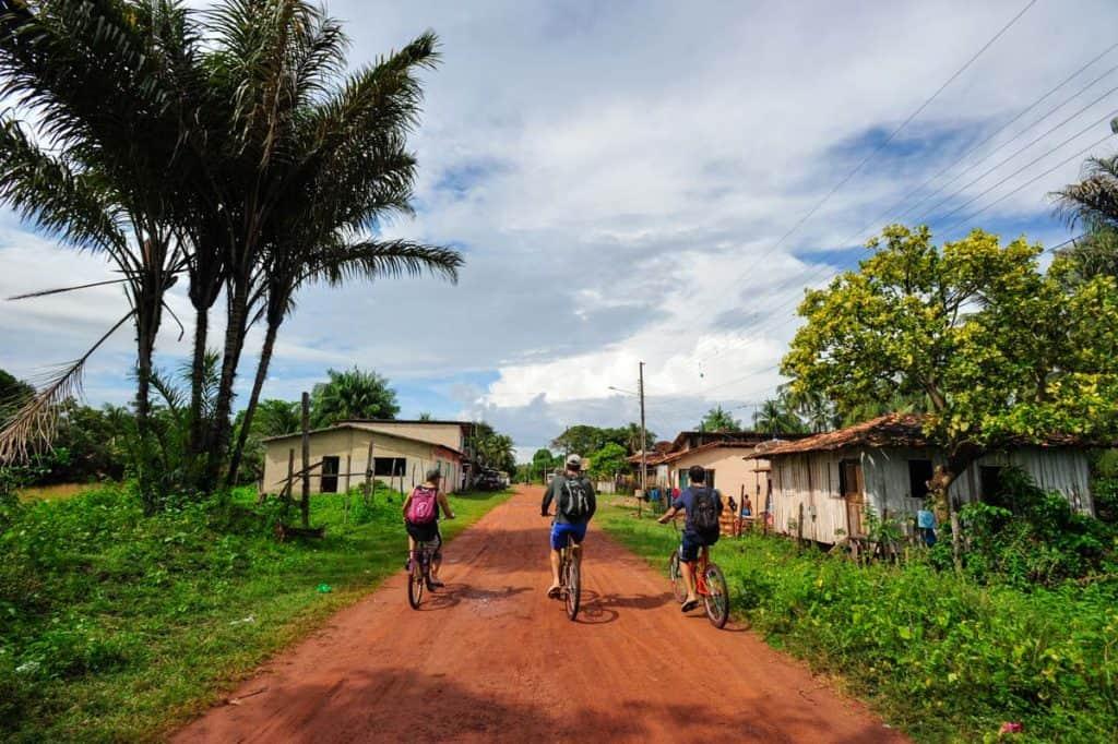 Visitar a Ilha do Marajó de bicicleta