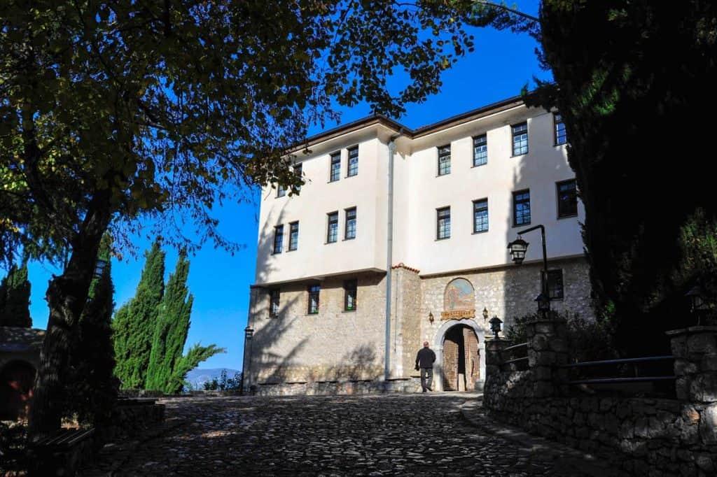 Mosteiro St Naun, Macedónia