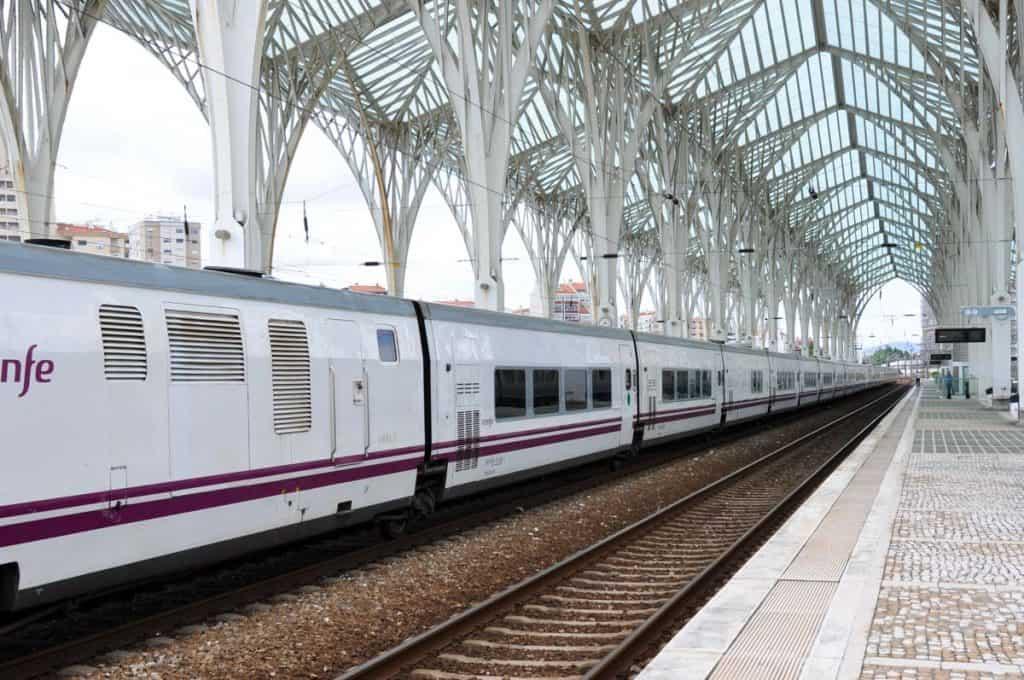 Comboio Sud Express em Lisboa