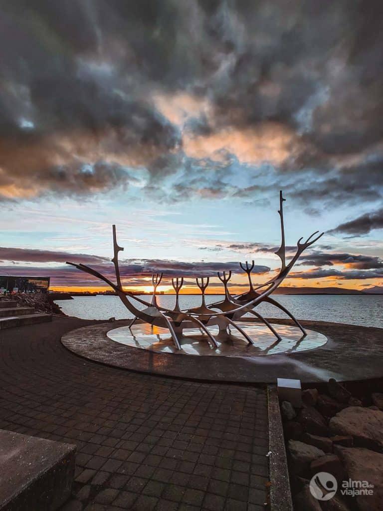 Viver em Reykjavík: Sun Voyager