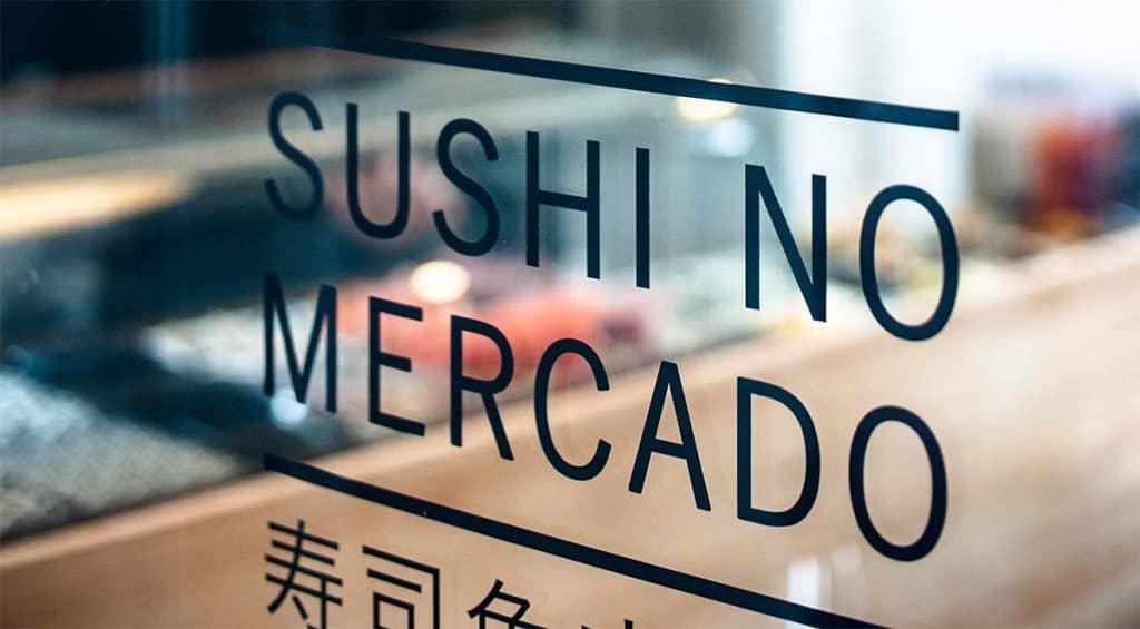 Sushi á markaðnum Matosinhos
