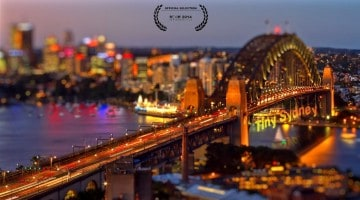 Sydney em miniatura