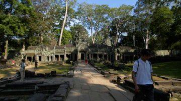 Prohm, een van de meest verbazingwekkende tempels in Angkor