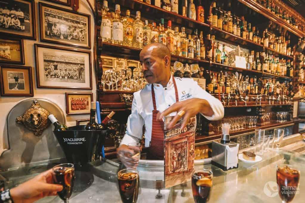 Vermouth blöndunartæki í Casa Alberto