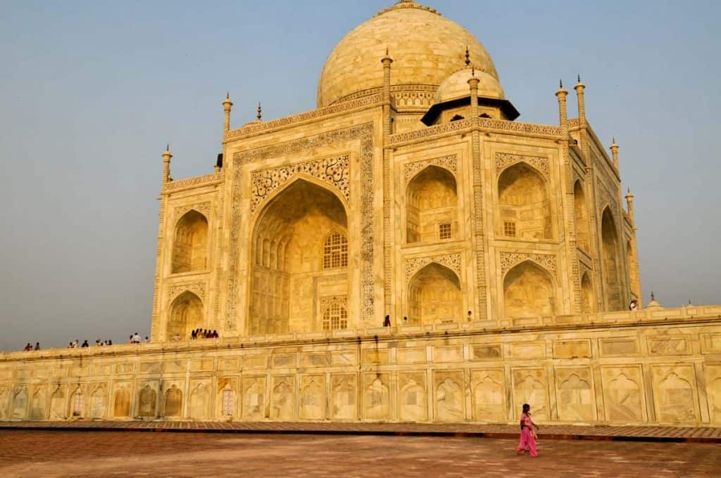 Taj Mahal, Indland