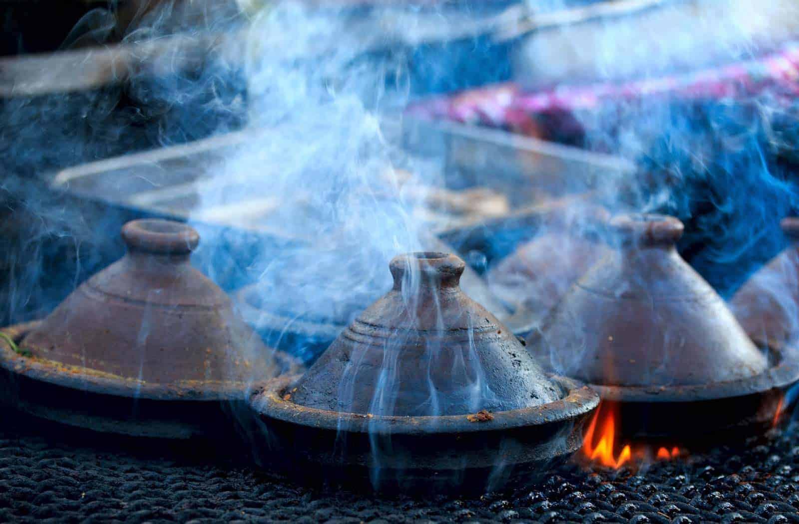 Tajines, prato típico de Marrocos