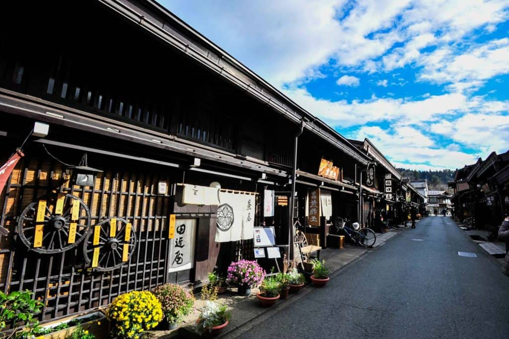 Barris històrics de Takayama