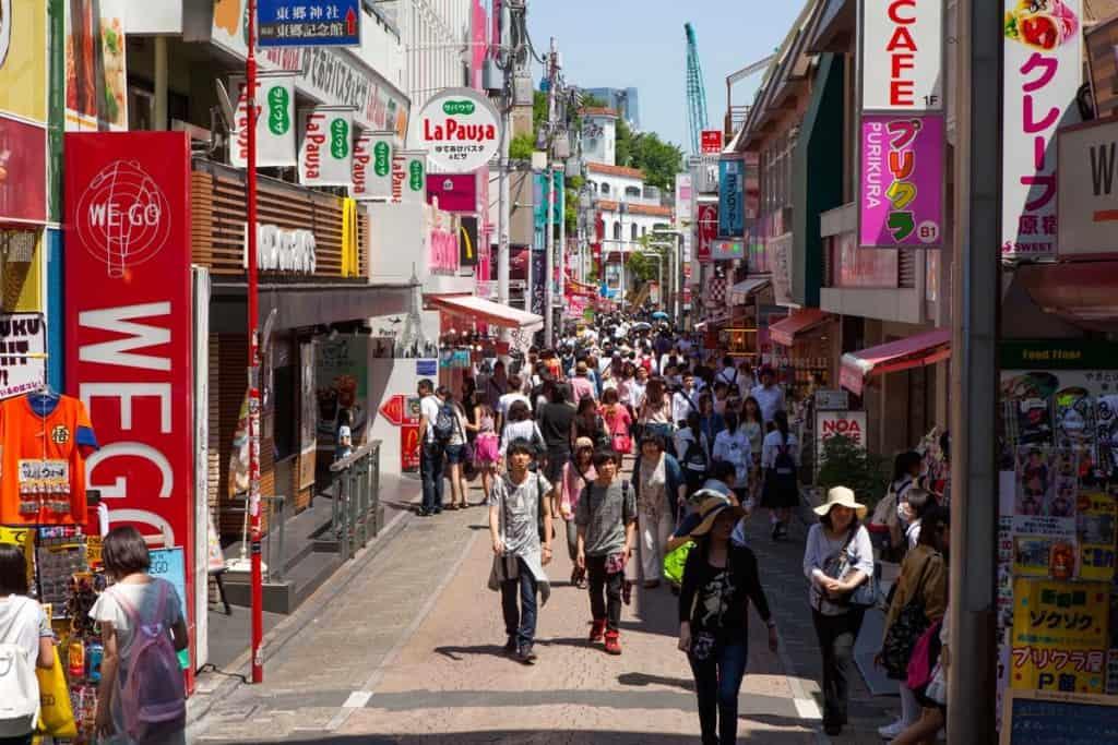 Rua Takeshima, Harajuku