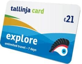 Dica: Cartão Tallinja Explorer