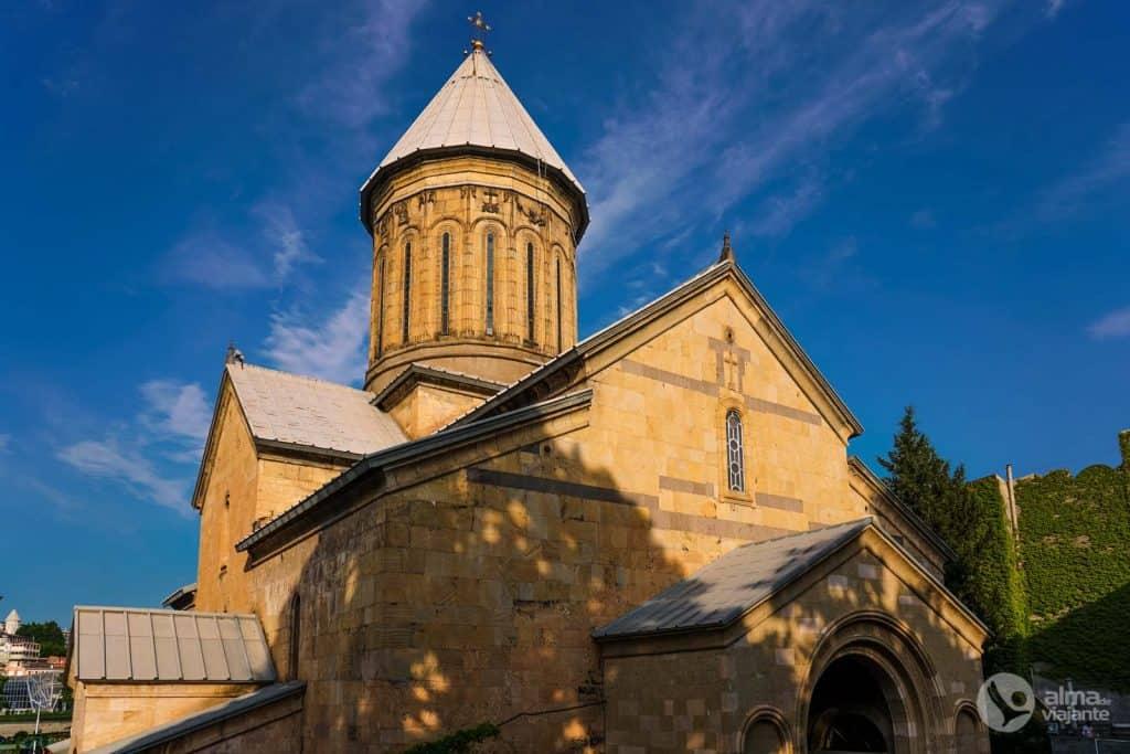 O que fazer em Tbilisi: visitar Catedral de Sioni