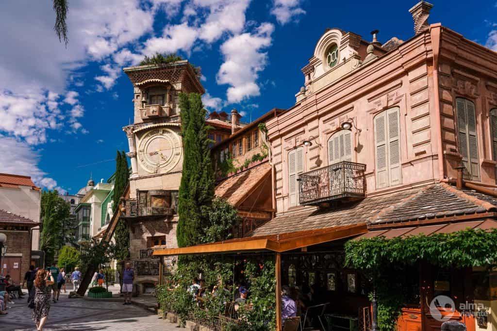 Torre do Relógio Tbilisi (Rezo Gabriadze)