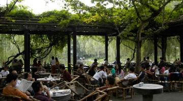 Tehús í Chengdu, Kína
