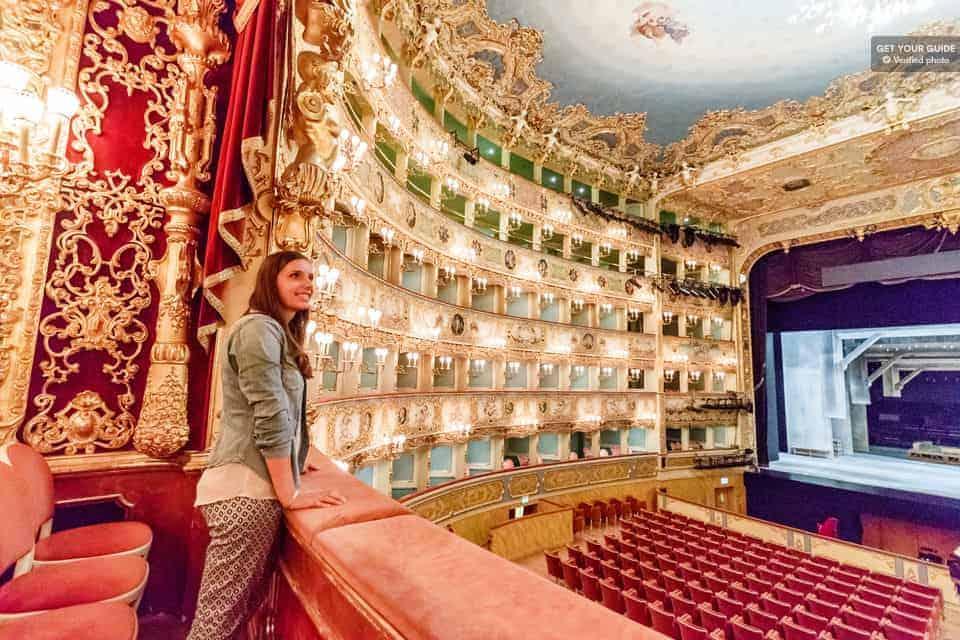 Atrações em Veneza: Teatro La Fenice