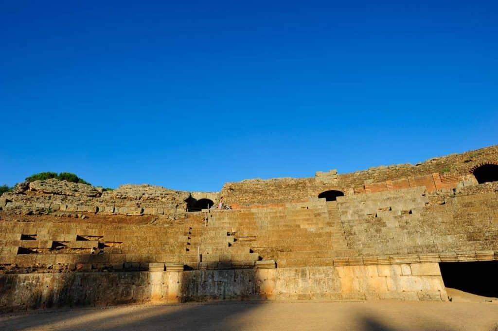 Bancadas do Anfiteatro romano