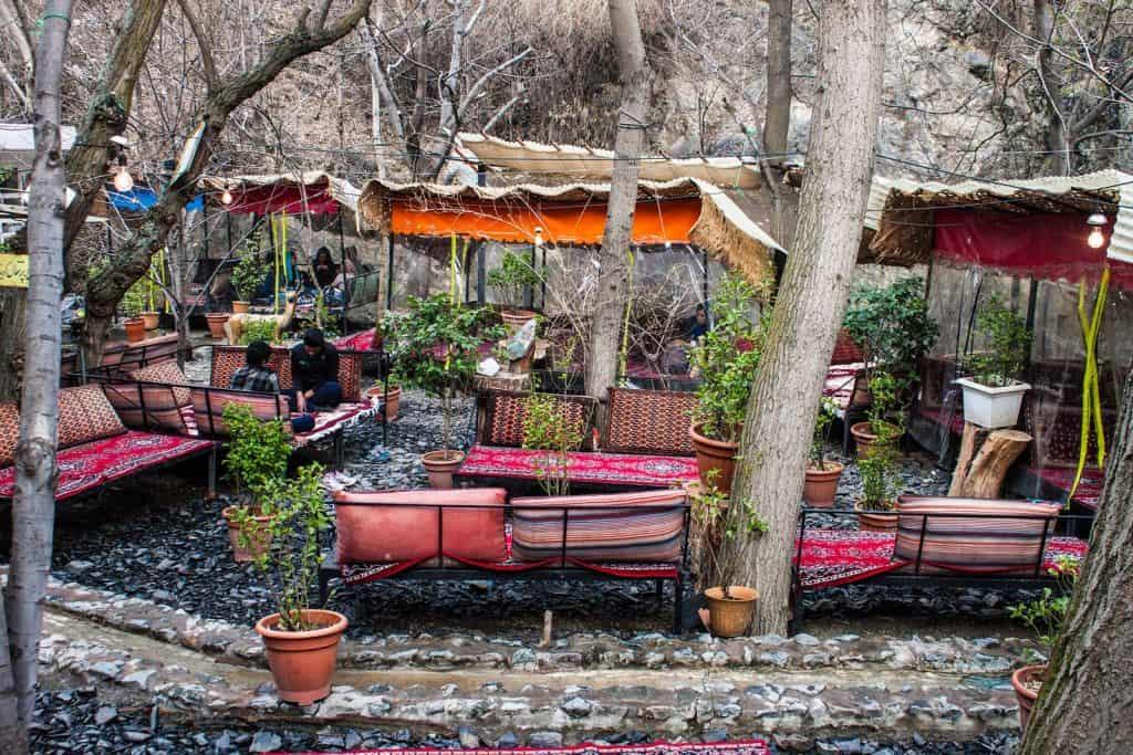 Restaurante em Teerão, Irão