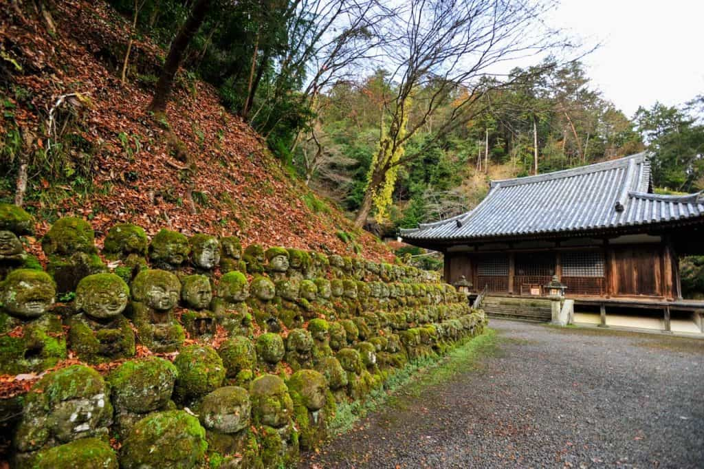 Geriausios Kioto šventyklos: Otagi Nenbutsu-ji