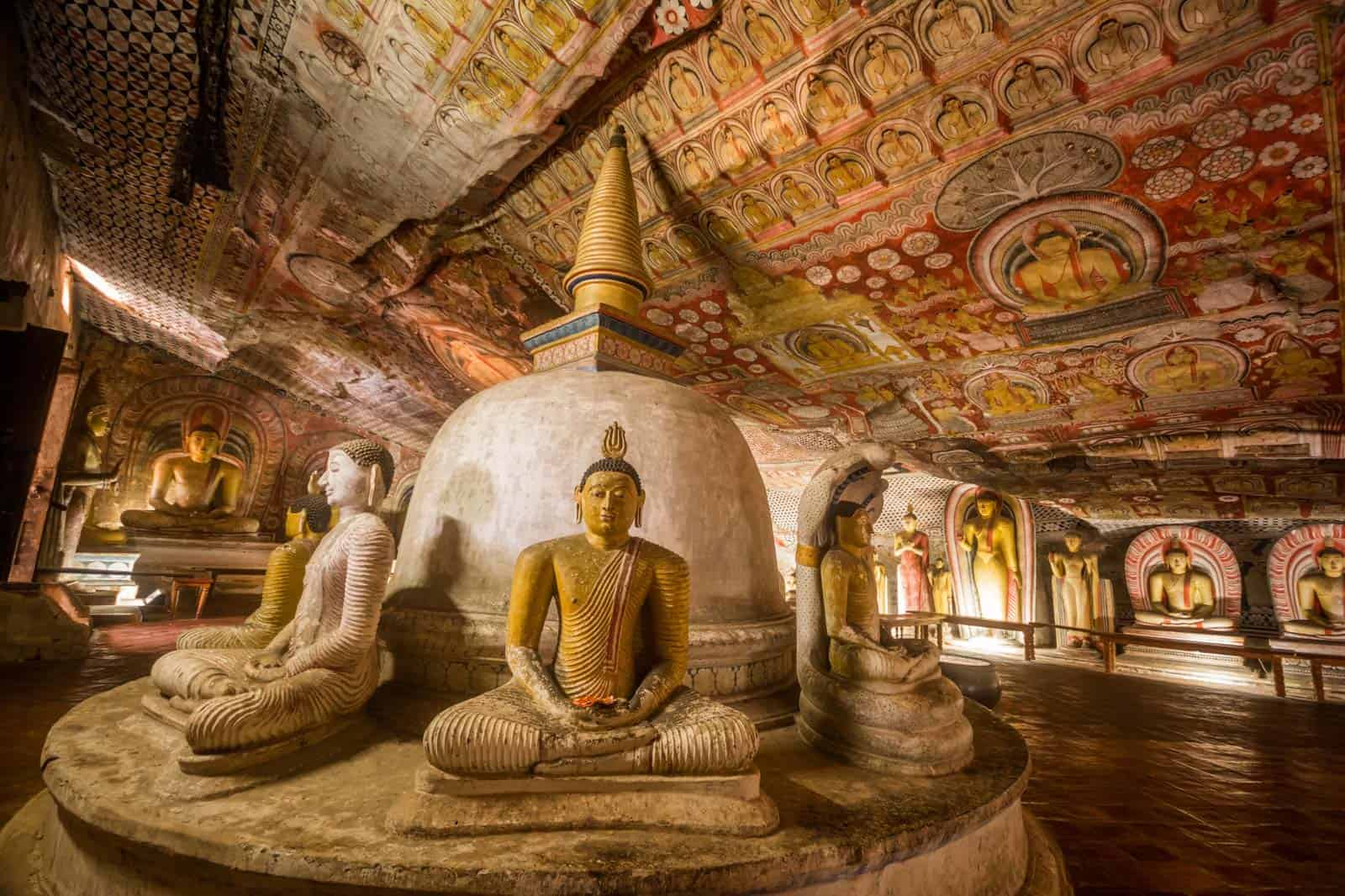 Templo de Dambulla, Sri Lanka