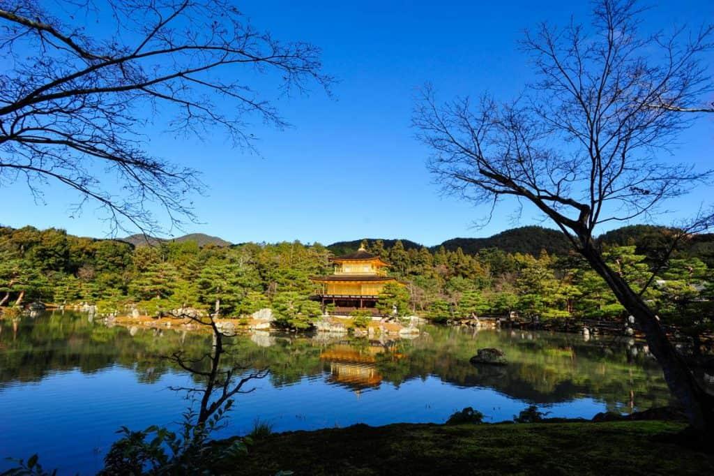 Kinkaku-ji, Kioto aukso paviljono šventykla