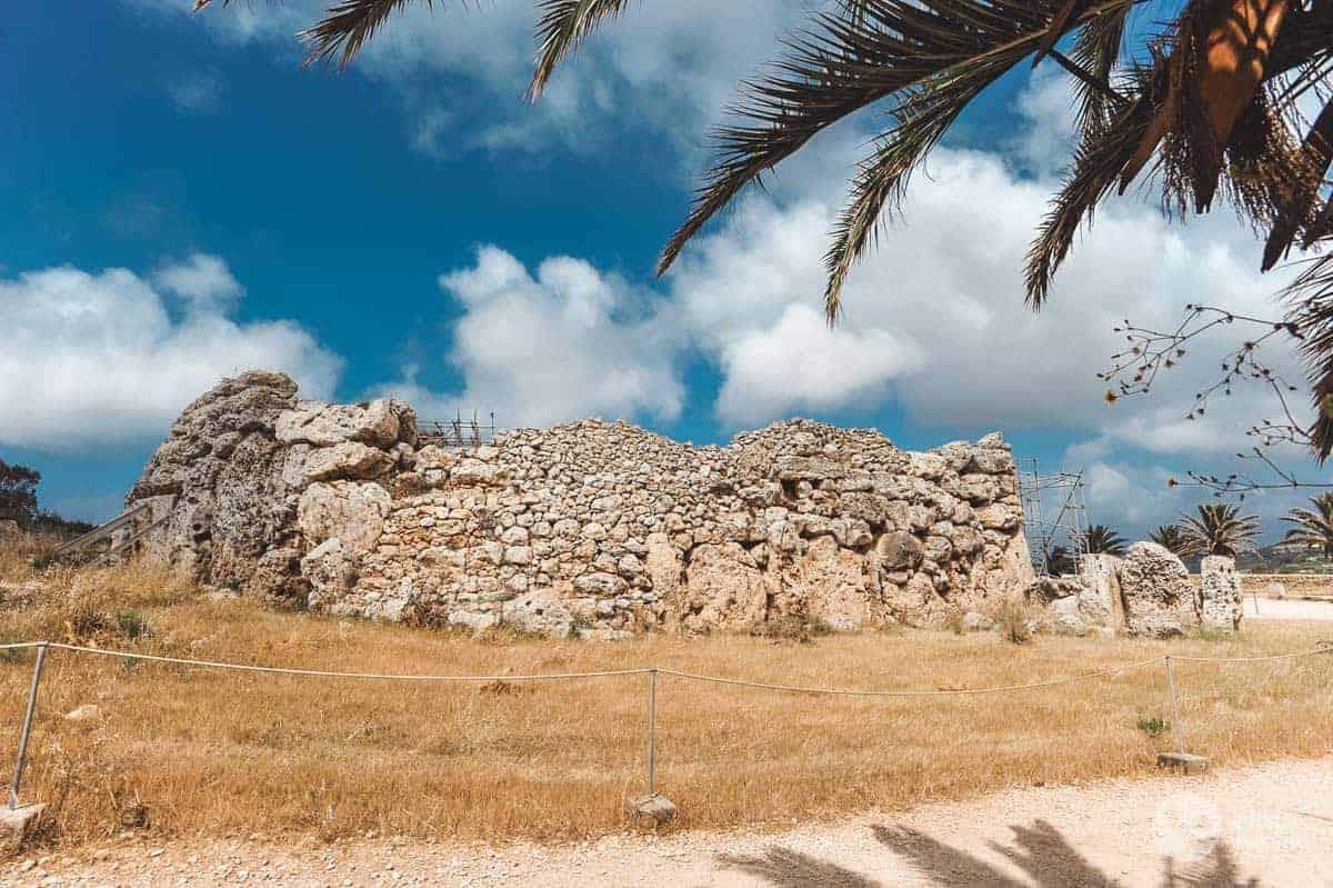 Templos megalíticos de Malta: Ggantija (Gozo)