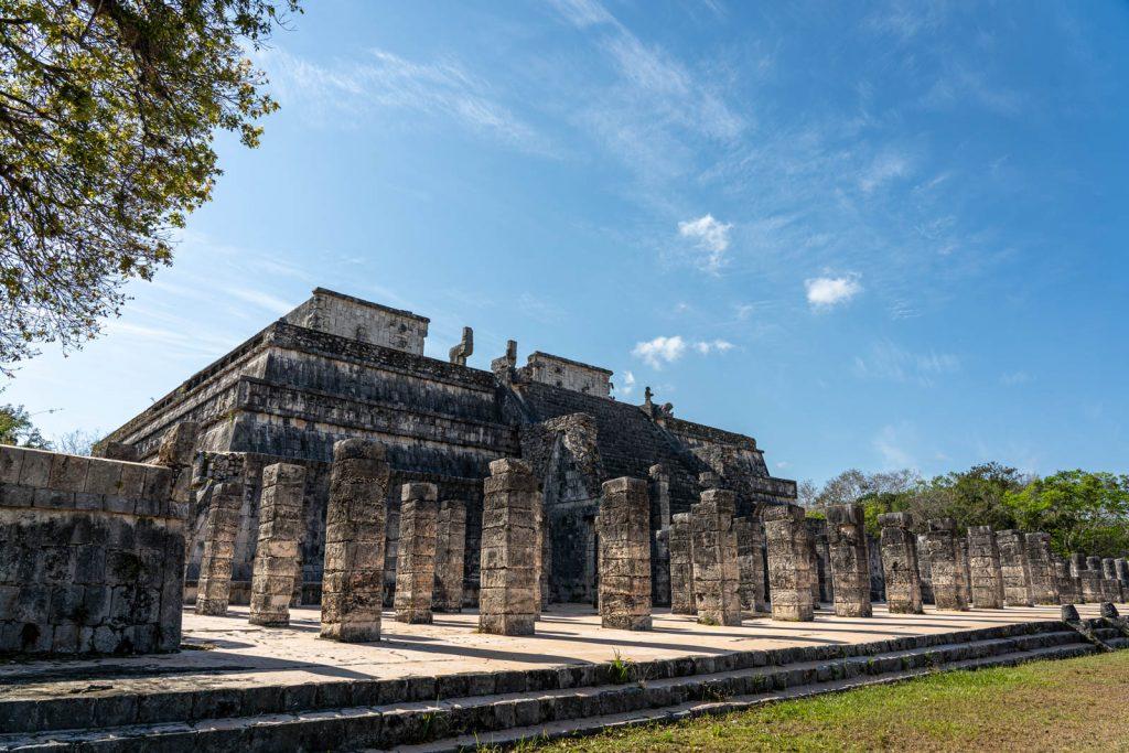 Templo dos Guerreiros, Chichén-Itzá