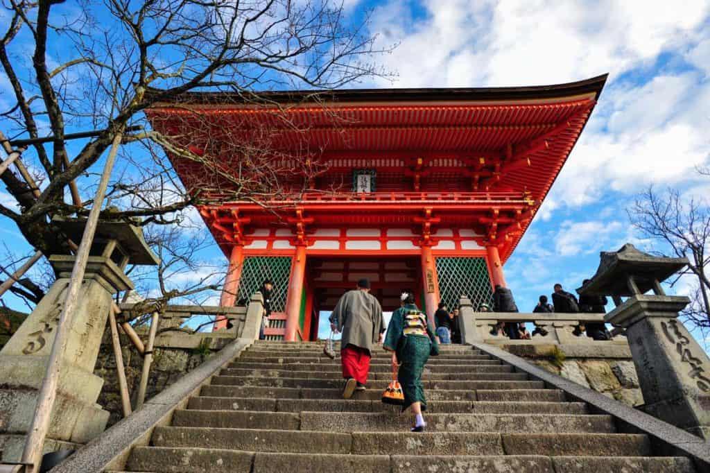 Skripta u Japanu: Kiyomizu Dera Temple, Kyoto