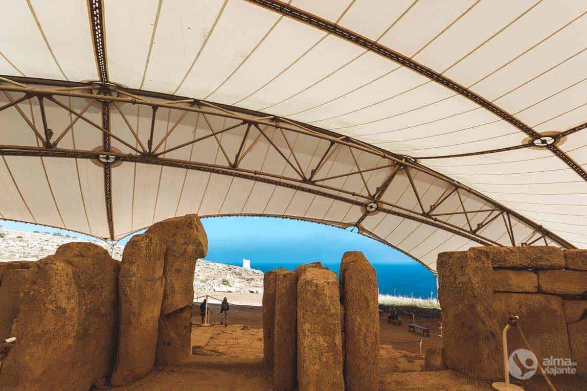 Templos megalíticos Malta: Mnajdra