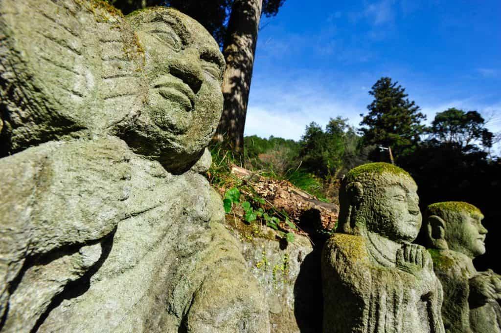 Pormenor de um rakan, discípulo de Buda
