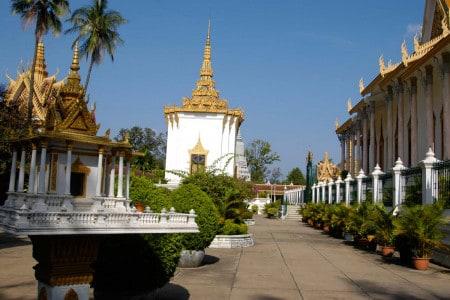 Templo em Siem Riep, Camboja