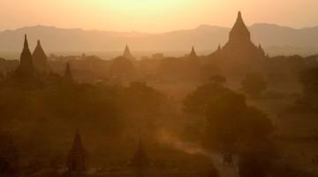Tempels van Bagan, Myanmar
