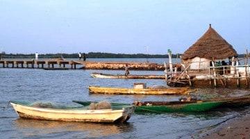 Tendaba, nas margens do Rio Gâmbia