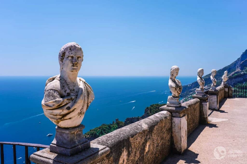 O que fazer em Ravello: visitar Villa Cimbrone