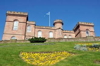Viagem às Terras Altas: Castelo de Inverness