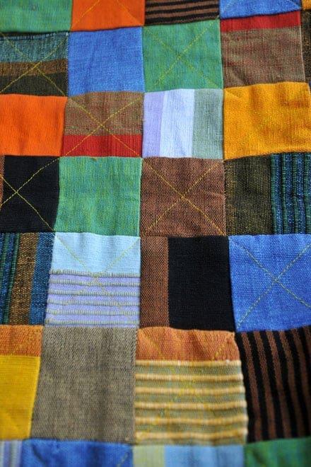 Tecidos criativos da Skye Batiks, em Portree, ilha Skye