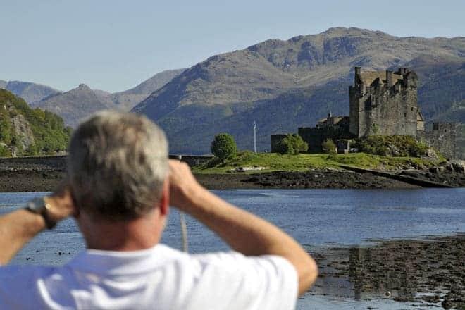Eilean Donan é o mais fotografado castelo da Escócia