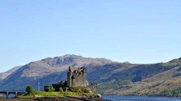 Dvorac Eilean Donan, Škotsko gorje