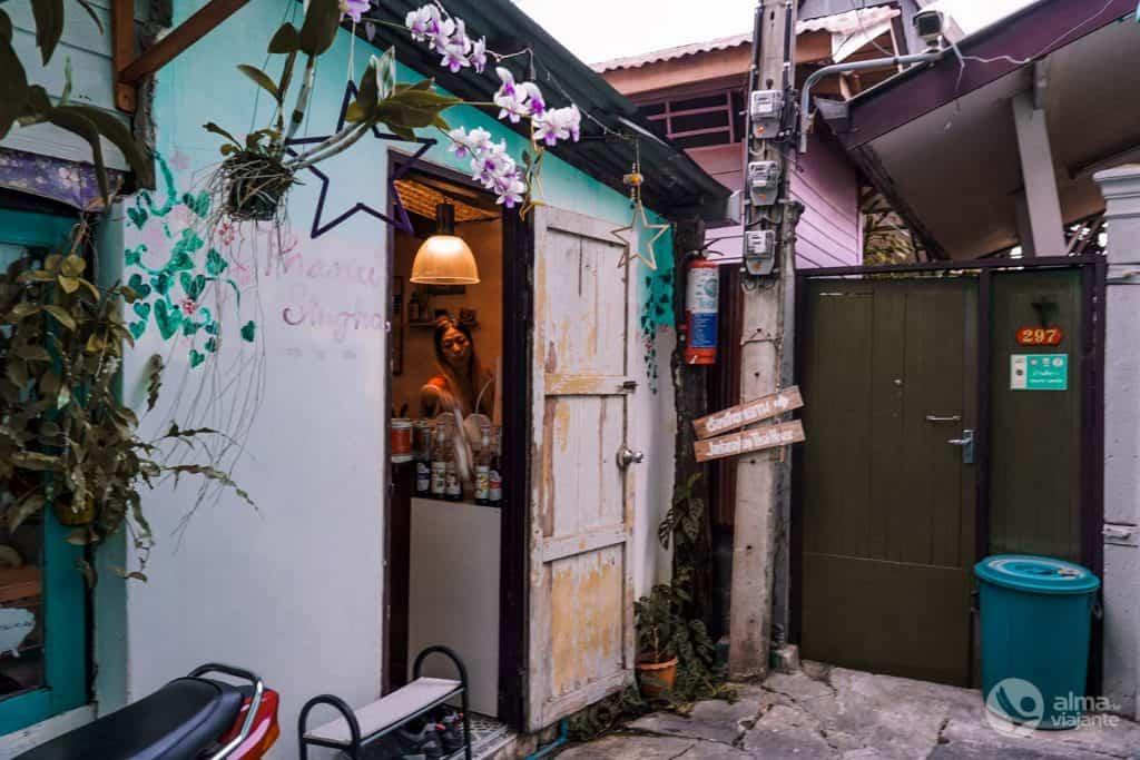 Thanusingha Bakery House, Kudeejeen, Bangkok