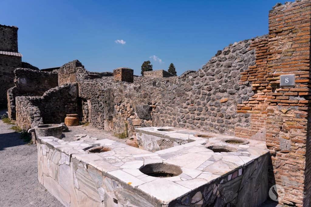 Thermopolium, Pompeia