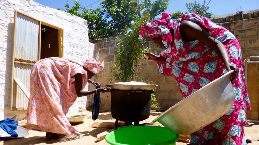 O que comer em Dakar: thiebou dienne