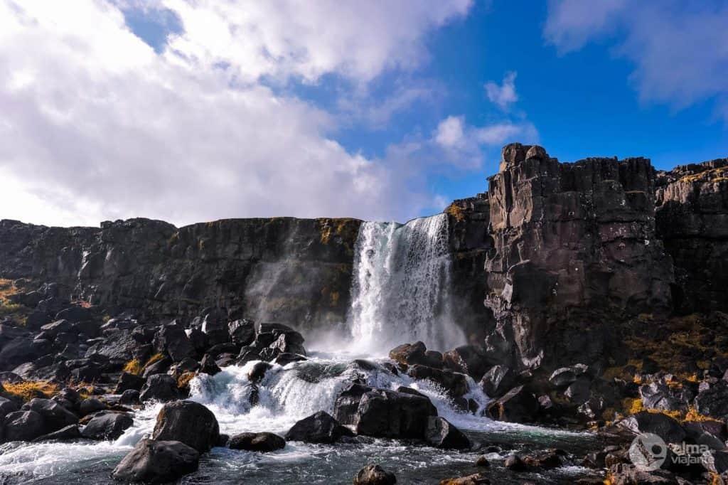 Öxarárfoss, Thingvellir, Ísland