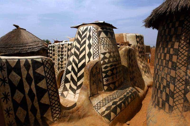 Aldeia de Tiébélé, Burkina Faso