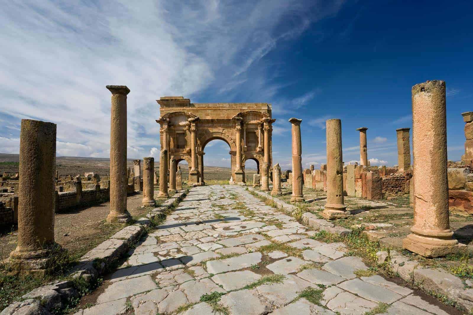 Ruínas de Timgad, Argélia
