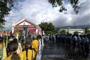 Manifestação em Dili, Timor-Leste