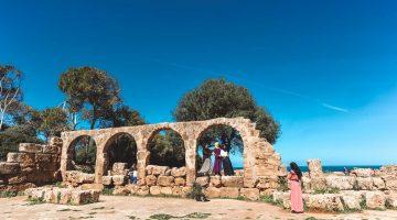Tipasa, ruínas romanas com cheiro a maresia