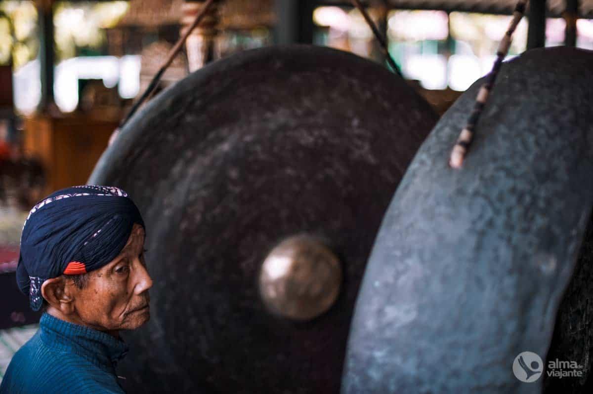 Gamelão na ilha de Java