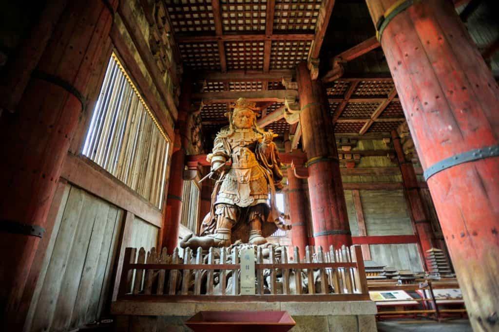Templo Todai-ji, em Nara, perto de Kyoto